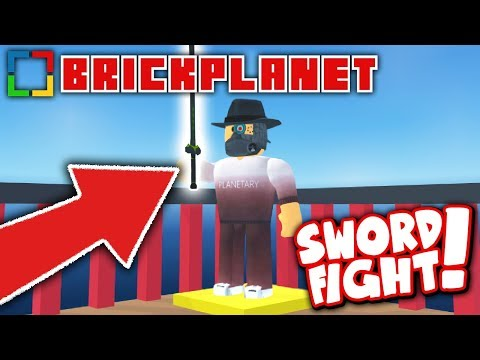 SWORD FIGHTING IS COMING TO BRICK PLANET!! *NEW SWORD CRATE!*