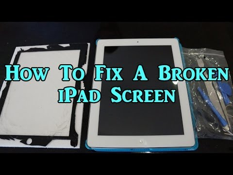 How To Fix A Broken iPad 2nd, 3rd, and 4th Generation Screen!