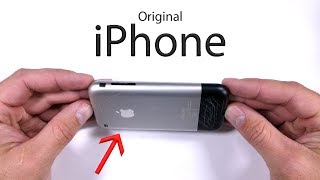 Original iPhone Durability Test! - Scratch and Bend Tested