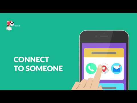 Connect to someone (email, phone, map) from your app