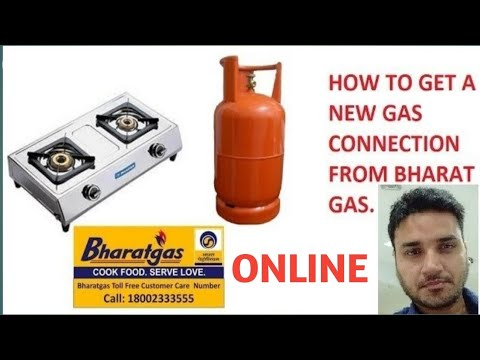 How to Online get a new gas connection from Bharat Gas