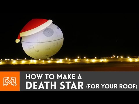 Death Star Christmas Decoration // How-To