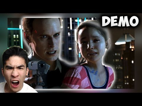 This Game is Awesome :D // Detroit Become Human - The Hostage Demo