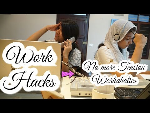 Ways to stay awake in Work | Make Work-place a Happy-place | The Sassy Lasses