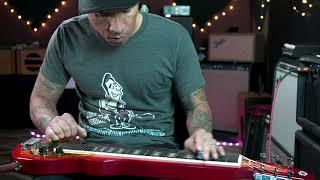 Eastwood Custom Shop Mrg Series Ricky Lap Steel Guitar Demo