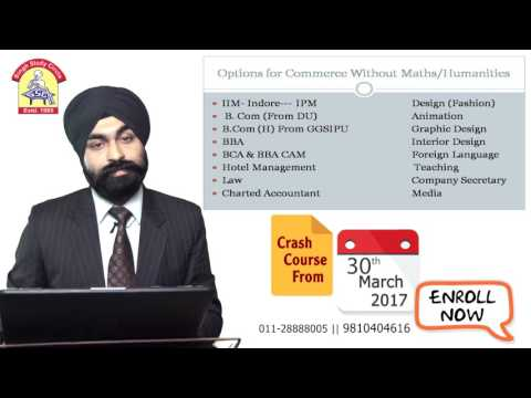 Career Options for Non-Maths Students by Satnam Singh