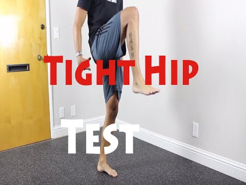 How to to tell if you have tight hips