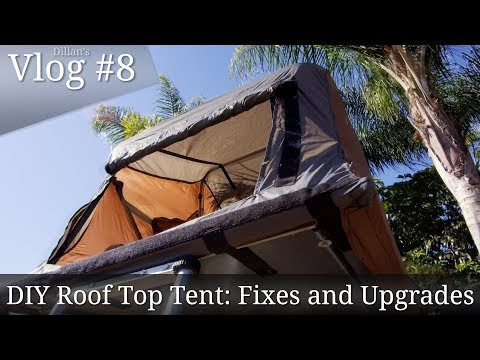 Vlog #9: Tent Upgrades and Fixes