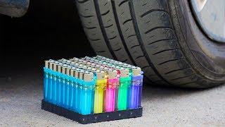 EXPERIMENT CAR VS Lighters