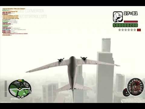MTA SA: Flying nevada upside down
