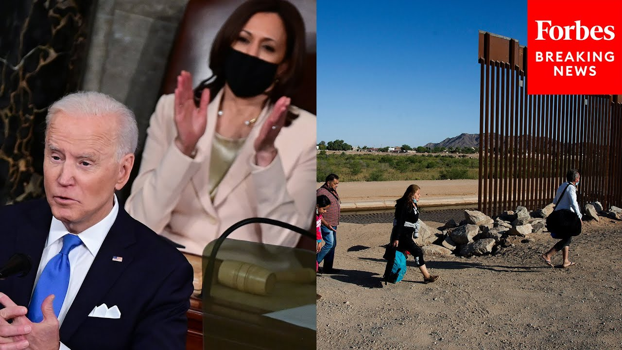 GOP Senator Rips Biden And Harris For 2 Million Illegal Immigrants And Lack Of Trips To Border