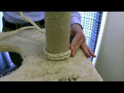 Climb-It Cat: DIY How to Refurbish/Restore a Cat Tree & Scratching Post