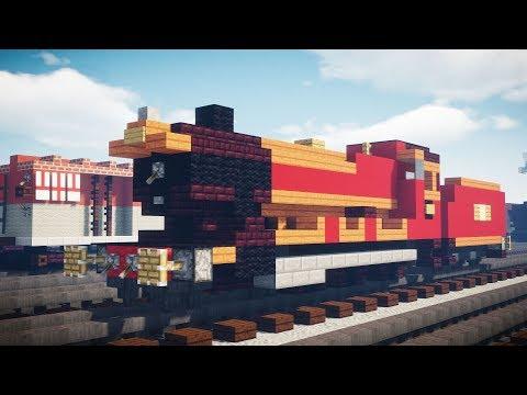 Minecraft Hogwarts Express GWR 4900 Hall Train Tutorial