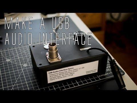 DIY USB Audio Interface with Phantom Power