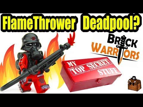 Deadpool LEGO Custom Minifigures and Weapons 2017