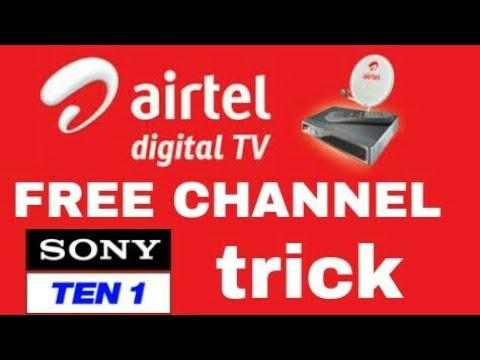 Airtel dth free channel sony ten1 trick tamil