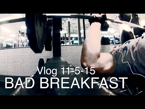GAIN MUSLES FAST - VLOG - DO NOT EAT THIS