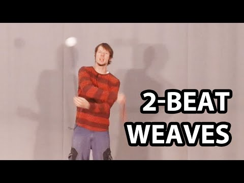 2-beat Weaves for Poi (Basic Poi Spinning Tutorial)