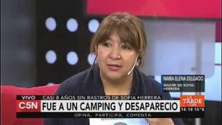 C5N - Sociedad: habla la mamá de Sofía Herrera a casi 8 años de su desaparición