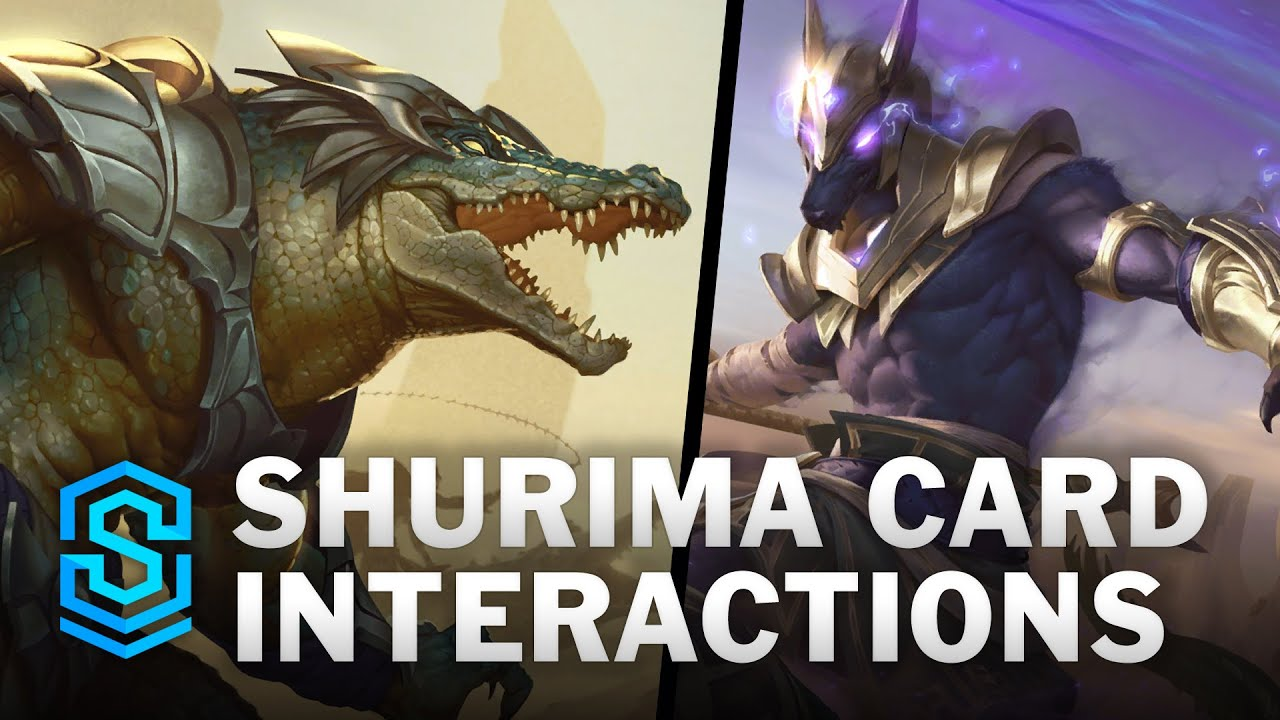 Shurima Card Special Interactions - Nasus and Renekton (Part 2)