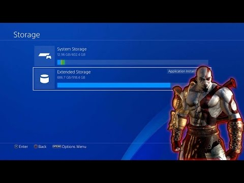 How To Switch/Use both External and System Storage PS4!