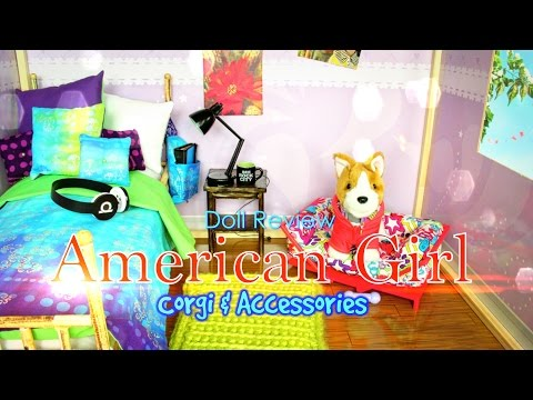 Doll Review: American Girl Corgi & Accessories