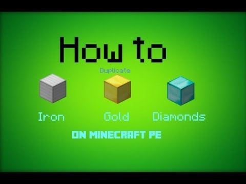 How to Duplicate Items in Minecraft PE 0.7.5 !