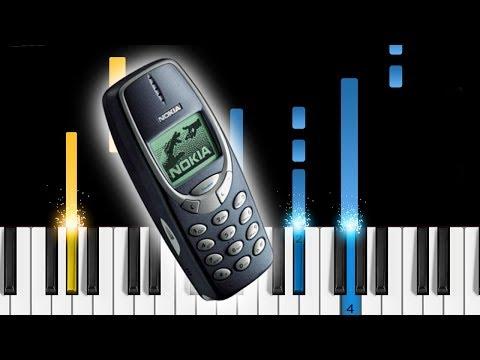 Nokia 3310 Ringtones - Piano Tutorial