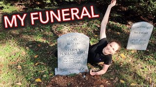 Behind the Scenes of My Funeral! (Threadbanger Holoween vlog 2018)