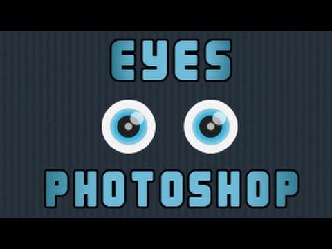Photoshop Cartoon Eyes Tutorial