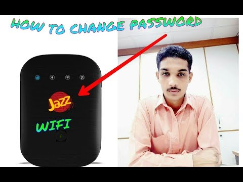 how to change jazz device wifi password android