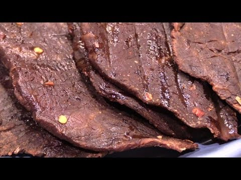 Homemade Beef Jerky in the Oven