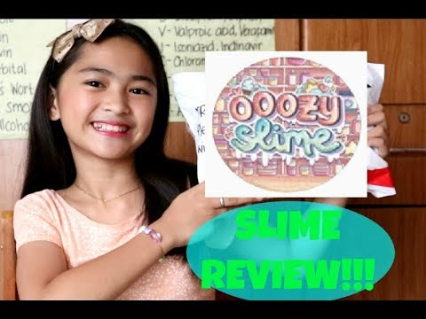 SLIME REVIEW from the BEST SLIME SHOP IN THE PHILIPPINES