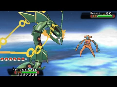 Pokemon Omega Ruby and Alpha Sapphire - Catching Deoxys