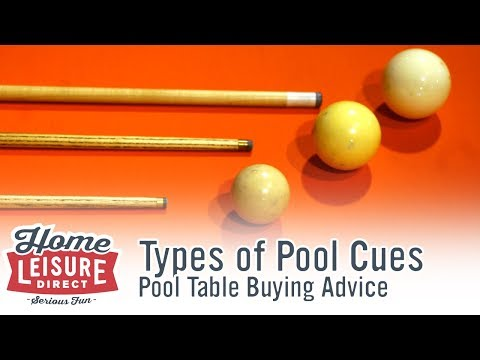 What are the Differences Between the Various Types of Pool and Snooker Cue?