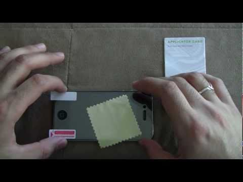 iPhone 4s Screen Protector Installation & Demo