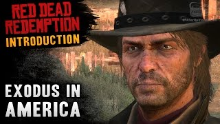 Red Dead Redemption - Intro & Mission #1 - Exodus in America (Xbox One)