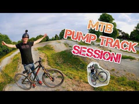 MTB PUMP TRACK SESSION!