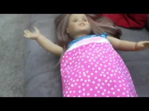 Ag doll sleeping bag