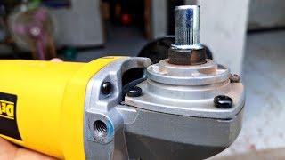 Top Genius Idea of Angle Grinder +Drill Chuck