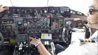 Download Amazing Juliana Airport St.Maarten MD-80 Cockpit Video 720p