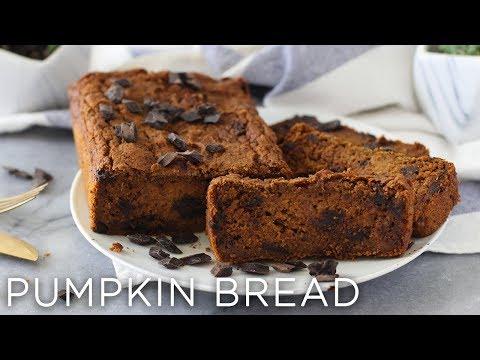 Chocolate Chip Pumpkin Bread | Gluten-Free + Vegan-Friendly!