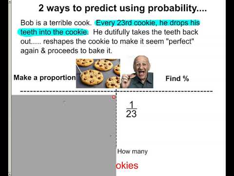 using probability to predict outcome