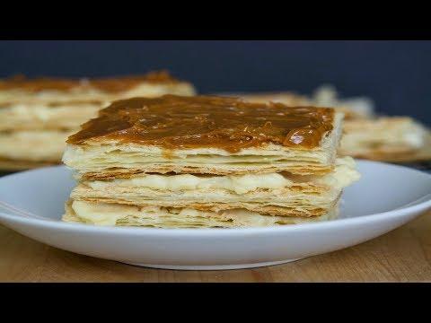 Milhoja Recipe   How To Make A Dulce de Leche Napoleon   SyS