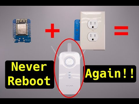 Router Booter - Never reboot your router again!