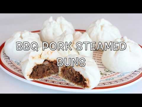Pulled BBQ Pork Steamed Buns (Siopao)