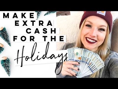 💵 How To Make Cash Fast! 5 Ways To Make Money For The Holidays