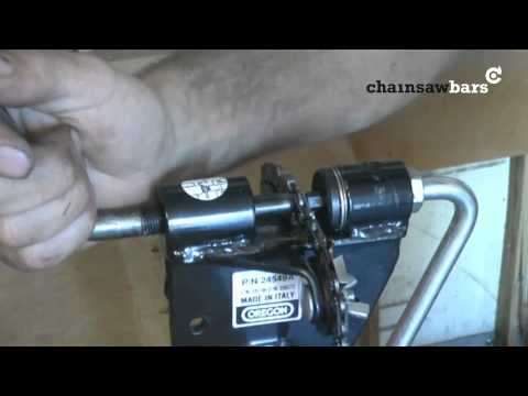 chainsawbars.co.uk - breaking and mending a chainsaw chain