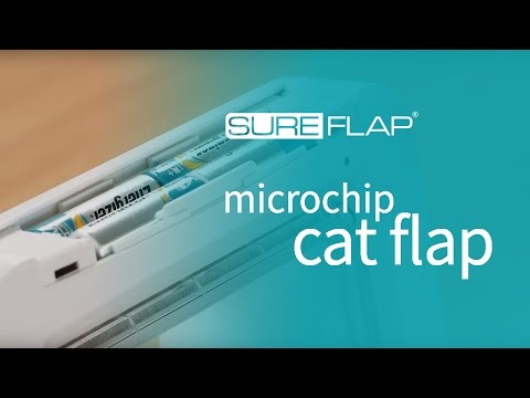 Replacing the batteries on your SureFlap Microchip Cat Flap