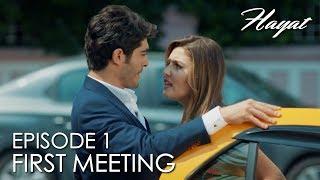 Hayat and Murat First meeting | Hayat Episode 1 (Hindi Dubbed)